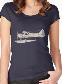 de Havilland Canada (DHC-2) Beaver Women's Fitted Scoop T-Shirt