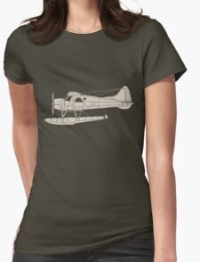 de Havilland Canada (DHC-2) Beaver Womens Fitted T-Shirt