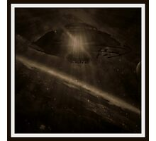 UFO file Photographic Print