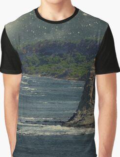 Moonlit Cove Graphic T-Shirt