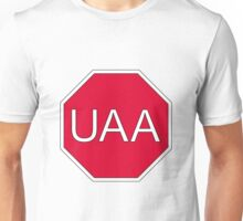 I Stop For UAA Unisex T-Shirt
