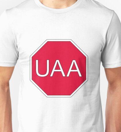 I Stop For UAA Unisex T-Shirt