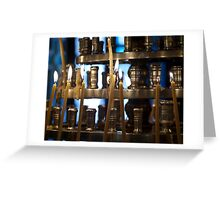 Church Candles Greeting Card