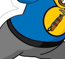 Captain Auto Hammer Sticker