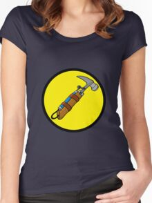 Captain Auto Hammer's Logo Women's Fitted Scoop T-Shirt