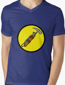 Captain Auto Hammer's Logo Mens V-Neck T-Shirt