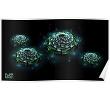 Waterlilly I Poster