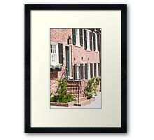 Georgetown, Washington DC Townhouse Framed Print
