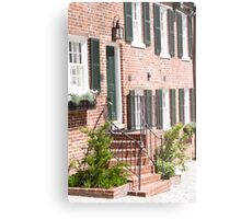Georgetown, Washington DC Townhouse Metal Print