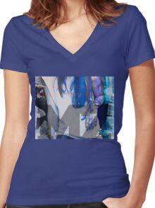 new art, star, death Women's Fitted V-Neck T-Shirt