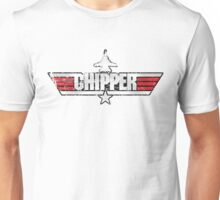 Custom Top Gun Style - Chipper Unisex T-Shirt