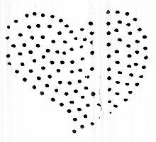 Nail Hole Heart Shape by GysWorks