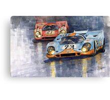 Porsche 917K 1000km Zeltweg Austria 1970  Canvas Print