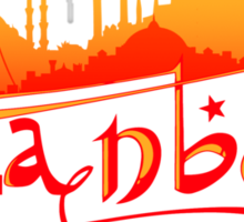 Istanbul Skyline Sticker