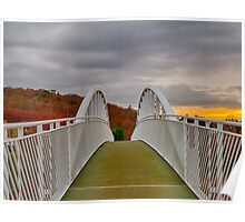 FORRES - FOOTPATH OVER A96 Poster