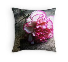 Pink Carnation No. 1# Throw Pillow