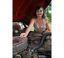 She will fix it herself. Photographic Print