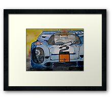 Gulf Porsche 917 No 2 Framed Print