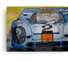 Gulf Porsche 917 No 2 Canvas Print