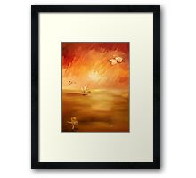 Dawn on the Ocean Framed Print