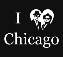 Blues Brothers Heart Chicago Kids Clothes