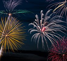 Pyrotechnic Extravaganza by Kenneth Keifer
