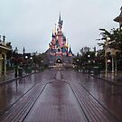 Sleeping Beauty Castle- Alone by Margybear