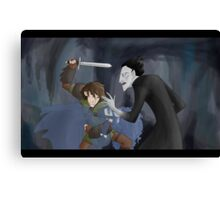 Hiccup, son of Thor Canvas Print