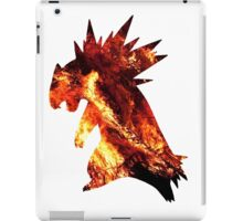 Typholsion used inferno iPad Case/Skin