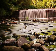 Dean Village Weir by Jordan Moffat