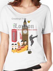 Greetings from London Women's Relaxed Fit T-Shirt
