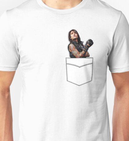 Ashley In A Pocket Unisex T-Shirt