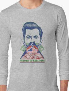 Pyramid of Greatness Long Sleeve T-Shirt