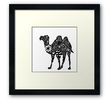 Flower Camel Framed Print