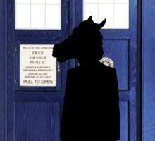 Doctor Horse Sticker
