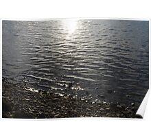 Shore at Sundown Poster