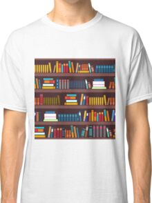 Book pattern Classic T-Shirt