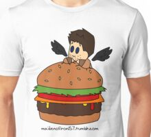 Cas the Angel of Cheeseburgers Unisex T-Shirt