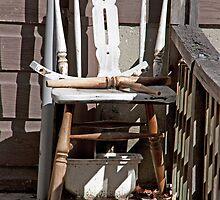 Three Legged Chair by phil decocco