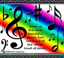 Thoughts On Music by Deborah Lazarus