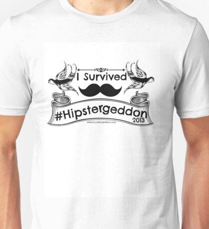 I Survived Hipstergeddon Unisex T-Shirt