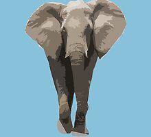 Cutout Elephant  by ASoftNarwhal