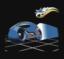 super tron kart 64 by coinbox tees
