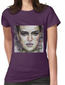 Black Swan - Natalie Portman Womens Fitted T-Shirt