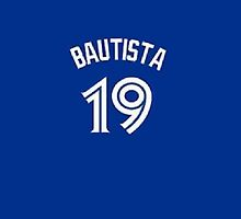 Jose Bautista Jersey iPhone Case  by TheTubbyLife