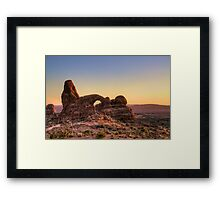 Arches National Park- Turret Arch Framed Print