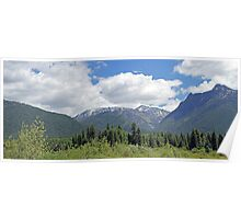The Cabint Mountians in Montana Poster