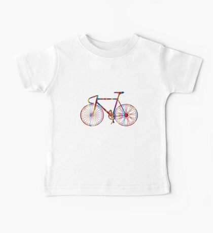 Rainbow Bike Baby Tee