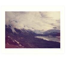 New Zealand, winter Art Print
