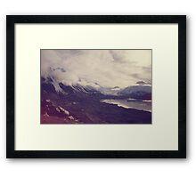 New Zealand, winter Framed Print